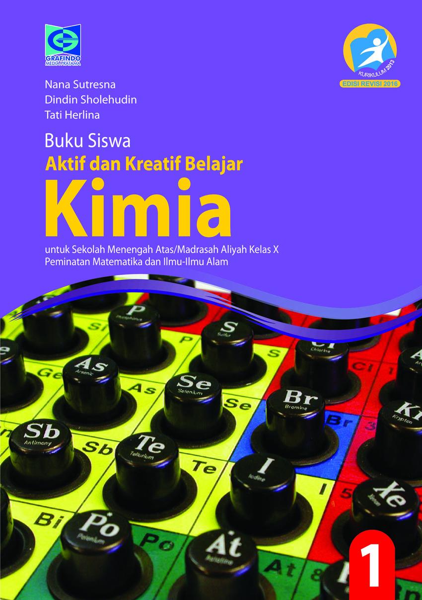 Ebook Kimia Kelas X Kurikulum 2013