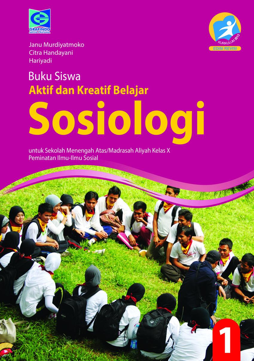 E Book Aktif Dan Kreatif Sosiologi Kelas X Peminatan Grafindo Media Pratama
